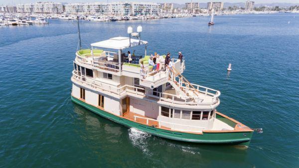 Tugboat Elegantly Retrofitted Ferry Boat