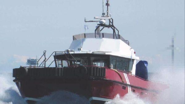 Water Jet Wind Farm - Crew Workboat Water Jet Wind Farm - Crew Workboat - Undwerway