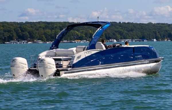 2020 Harris Crowne SL 270 Twin Engine