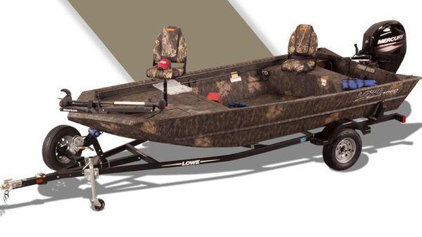 Lowe RX 1660 DELUXE TILLER