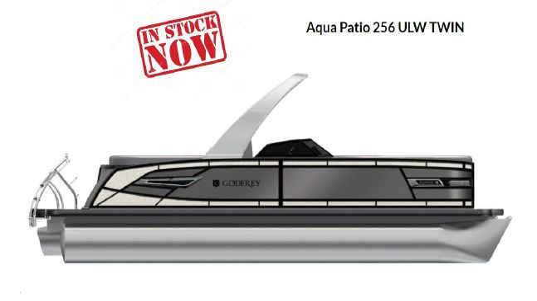 Godfrey Aqua Patio 256 ULW Twin