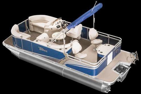 2018 Tahoe Pontoon LT Rear Fish - 24'
