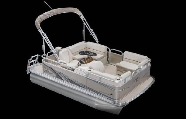 2019 Tahoe Pontoon Sport Cruise Rear Bench - 14'