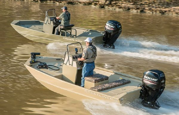 2019 Crestliner 1660 Retriever FCC