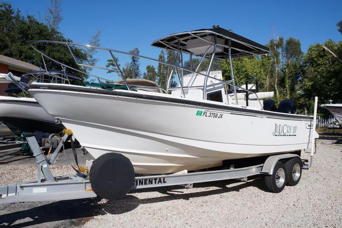 1997 Boston Whaler 240 Outrage Naples, Florida - Lowes Marine Sales