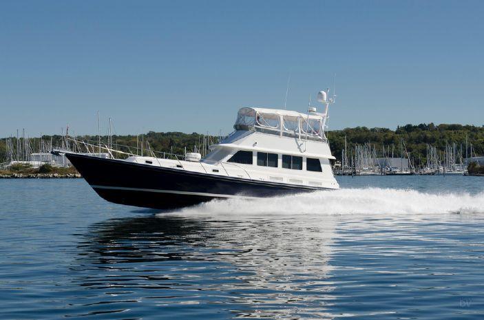 1999 Little Harbor WhisperJet 55 Flybridge Cruiser BoatsalesListing Maine