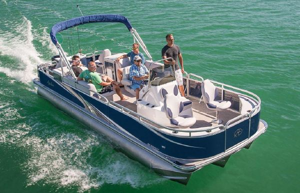 2019 Tahoe Pontoon GT CC Fish - 23'