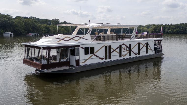 2007 Lakeview 18' x 75' Houseboat
