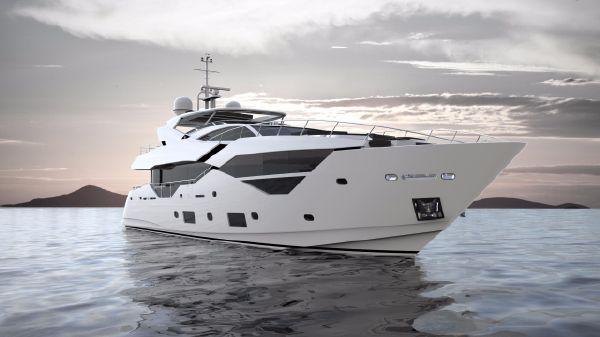 Sunseeker 116 Yacht Manufacturer Provided Image: Sunseeker 116 Yacht