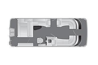 2020 Bennington Q 25 QSB X1 Wide Beam