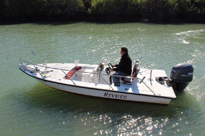 2001 Flats Bay 18 Flats Boat Lowes Marine Sales In