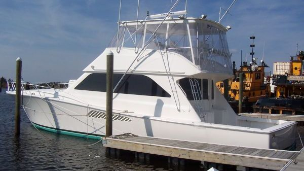 Viking Yacht Convertible Port Side