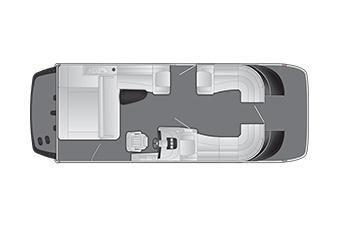 2020 Bennington QX 25 QXSB X1 I/O Wide Beam