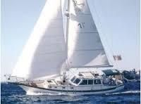 Shannon 38 Pilothouse Under sail (sistership)