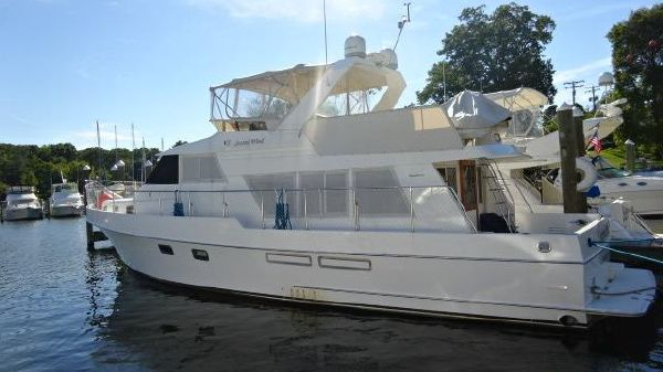 Ocean Alexander 511 Classico 51' Ocean Alexander port profile