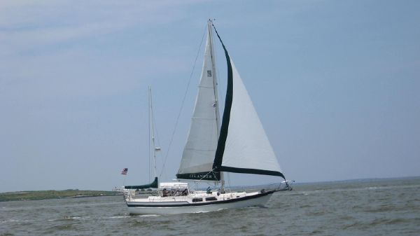 Irwin Ketch Under sail