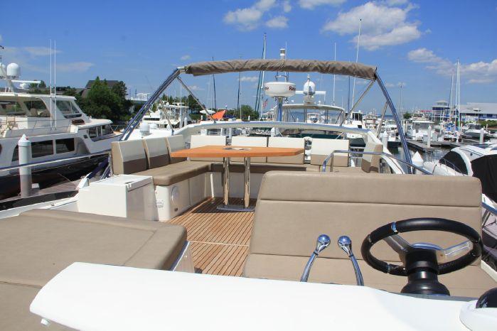 2014 Prestige 550 BoatsalesListing Massachusetts