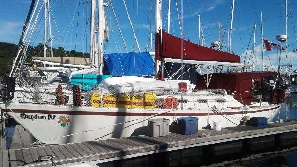 Canadian Sailcraft CS 36Traditional Port View