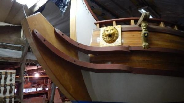 Custom Replica 17th Century Yacht