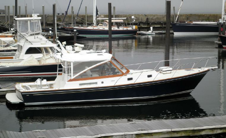 1998 Little Harbor WhisperJet 38