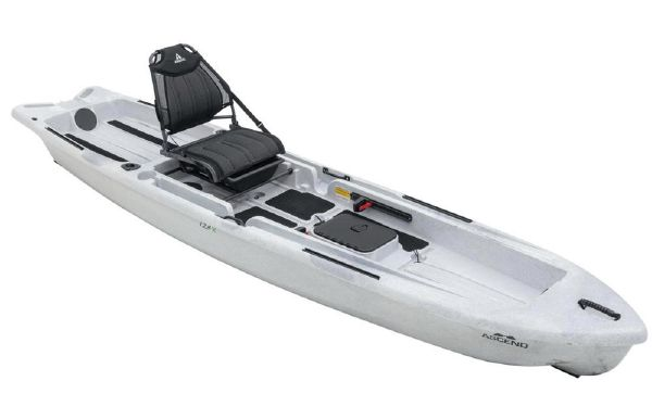 2021 Ascend 128X Yak-Power Sit-On - White/Black