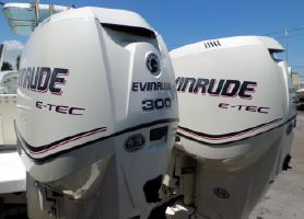 Evinrude 300hp 25