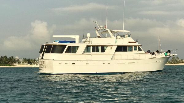 Hatteras Extended Deck