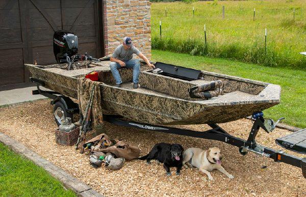 2021 Lowe Roughneck 2070 Waterfowl Tiller