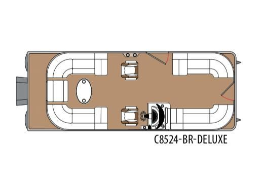 2020 Montego Bay 8524 BR DLX