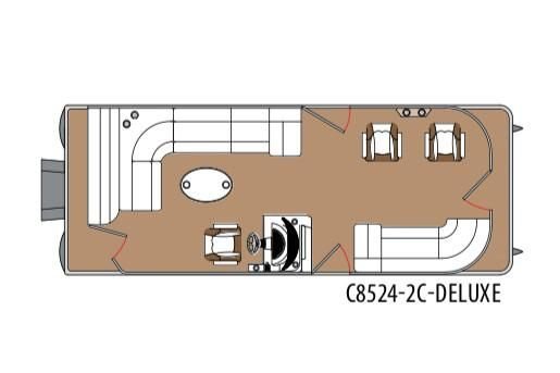 2020 Montego Bay 8524 2C DLX