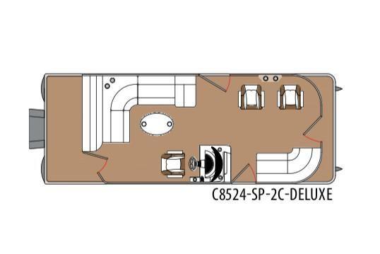2020 Montego Bay 8524 SP 2C DLX