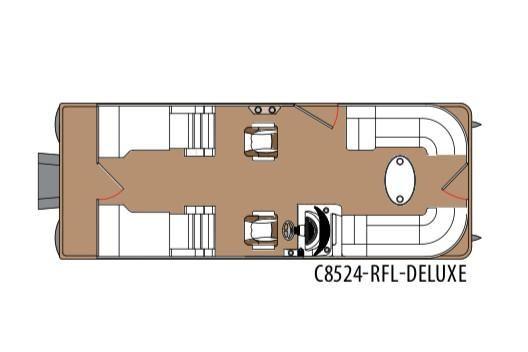 2020 Montego Bay 8524 RFL DLX