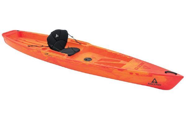 2021 Ascend 12R Sport Sit-On - Orange/Red
