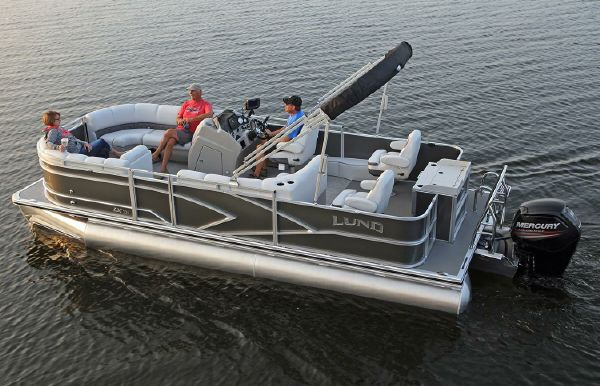 2019 Lund LX240 Pontoon Fish
