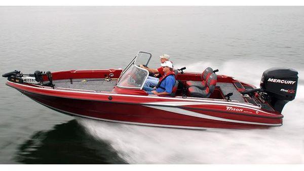 Triton 216 Fishunter Manufacturer Provided Image