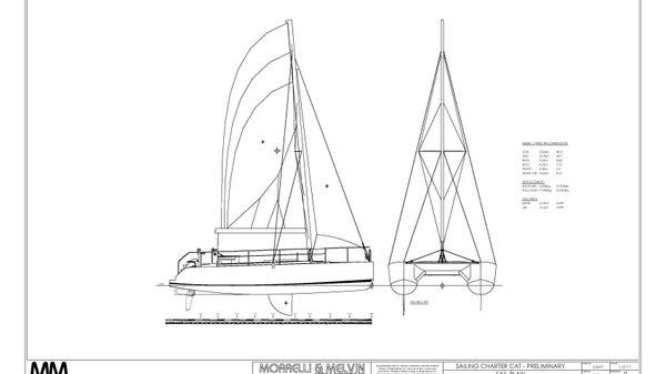 MM 45 Charter Catamaran Subchapter