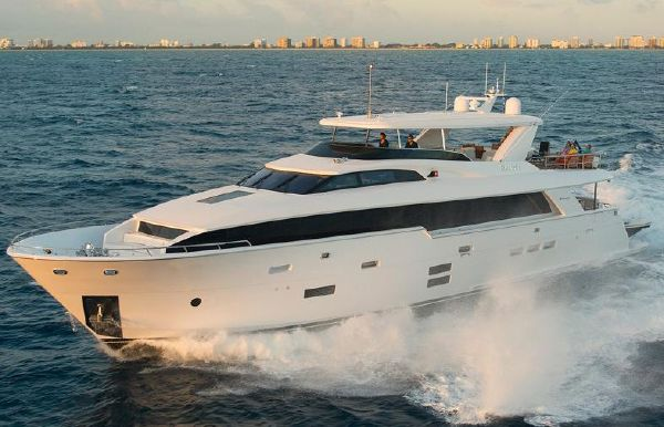 2019 Hatteras 105 Raised Pilothouse
