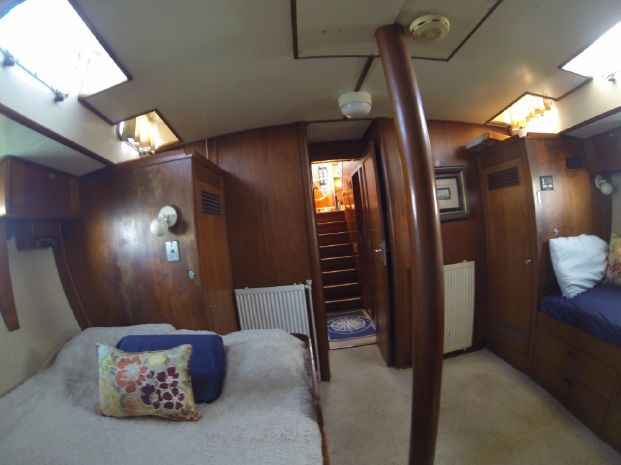 1974 Frans Maas Expedition Yacht BoatsalesListing Connecticut