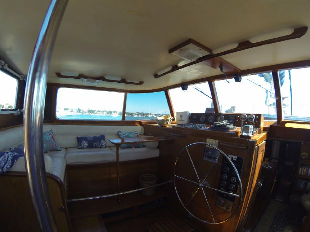 1974 Frans Maas Expedition Yacht BoatsalesListing Maine