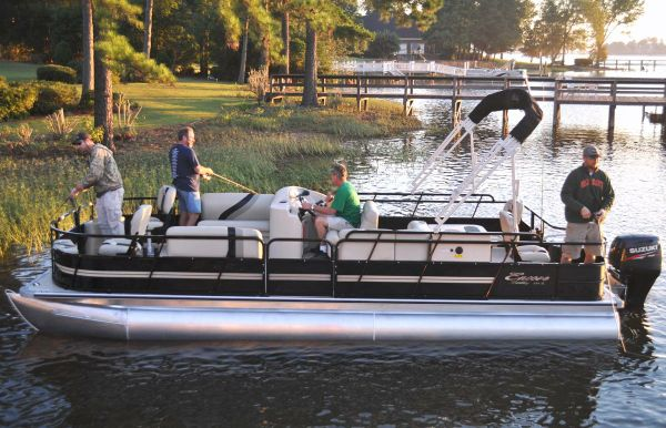 2017 Bentley Pontoons 244 4-point