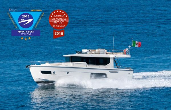2017 Cranchi Eco Trawler 43 Long Distance