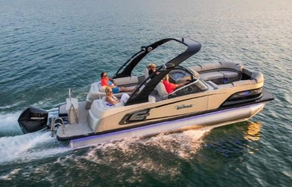 2020 Tahoe Pontoon Grand Tahoe Quad Lounge Windshield 25'