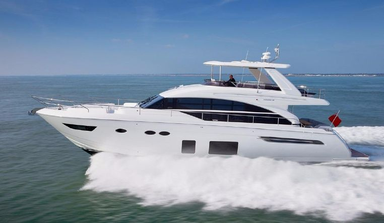 Inventory boat details page staten island yacht sales in Princess 68 motor yacht