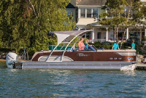 Tahoe Pontoon Vision Elite Windshield 27' image