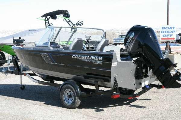 Crestliner 1650 Fish Hawk WT - main image