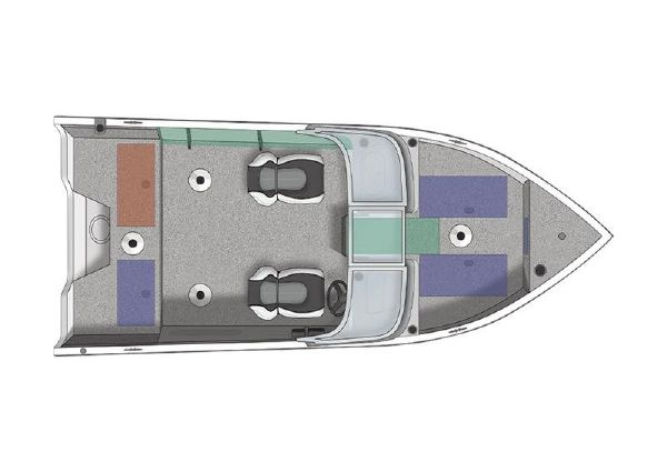 Crestliner 1650 Fish Hawk WT image