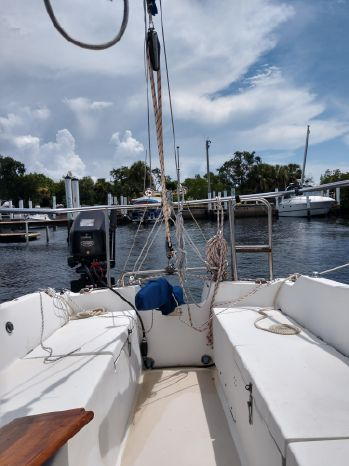 1982 Catalina 25 Tall Rig Port Charlotte, Florida - Pier One