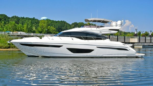 Princess S65 Sportbridge Port Side