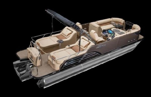2020 Tahoe Pontoon Vision Rear Lounger 27'