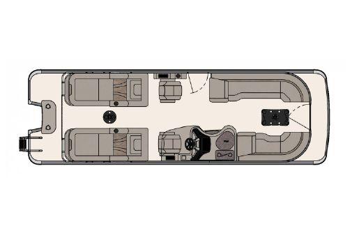 Tahoe Pontoon Vision Rear Lounger 27' image